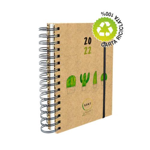 Agenda 2022 Kaki® - Cop. rigida cartone alveolare – F.to A5