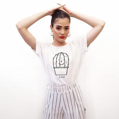T-shirt DONNA Kaki