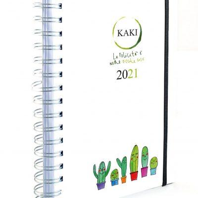 Agendada GIORNALIERA KAKI copertina morbida carta riciclata