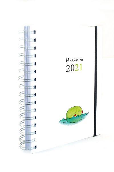 Agenda  2021 GIORNALIERA MARIMINO copertina morbida carta riciclata
