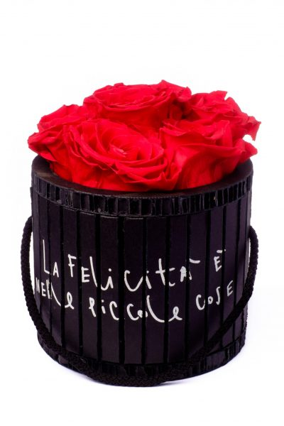 Natural Roses - Composizione di rose Stabilizzate