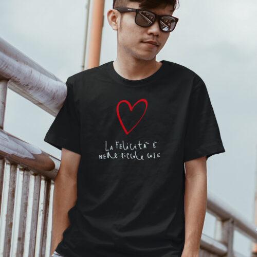 T-shirt La Felicità è nelle piccole cose