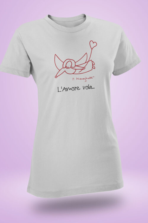 T-shirt donna L'Amore Vola...