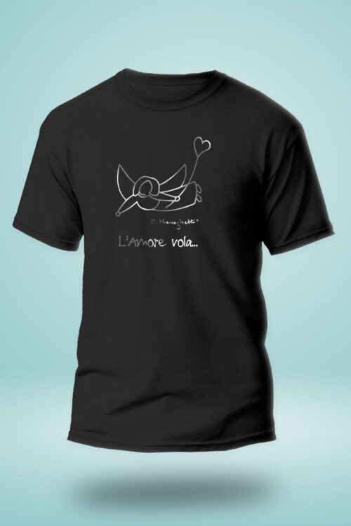 T-shirt uomo L'Amore Vola... LIMITED SILVER