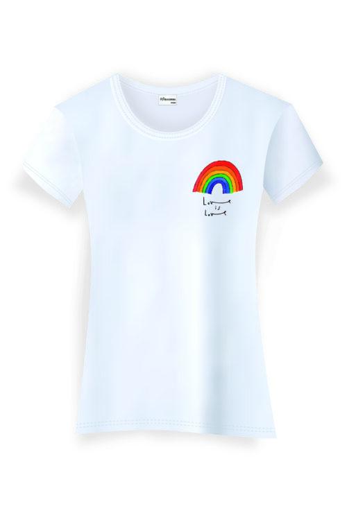 Love Is Love Rainbow Donna